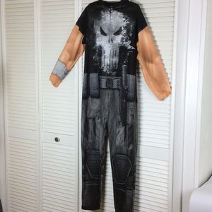 Marvel The Punisher onesie jumpsuit size small